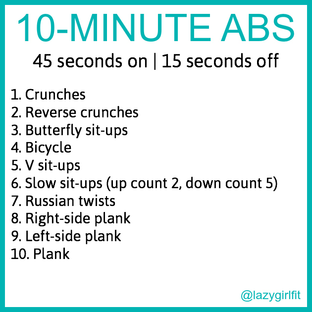 10-minute abs